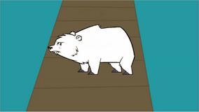 Leshawna zmieniła się w białego misia w myślach noaha