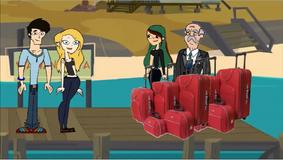Zytha z walizkami