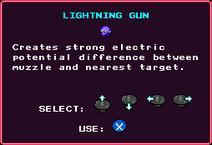 Lightning Gun Pickup