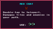 Red Coat Pickup