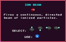 Ion Beam Pickup