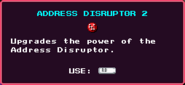 Address Disruptor 2 Pickup