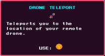 Drone Teleport Pickup