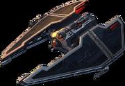 Sith starship by doctoranonimous-d35x4ei