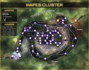 Hapes Cluster