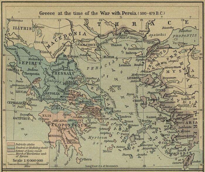 Greece persian war 500 479