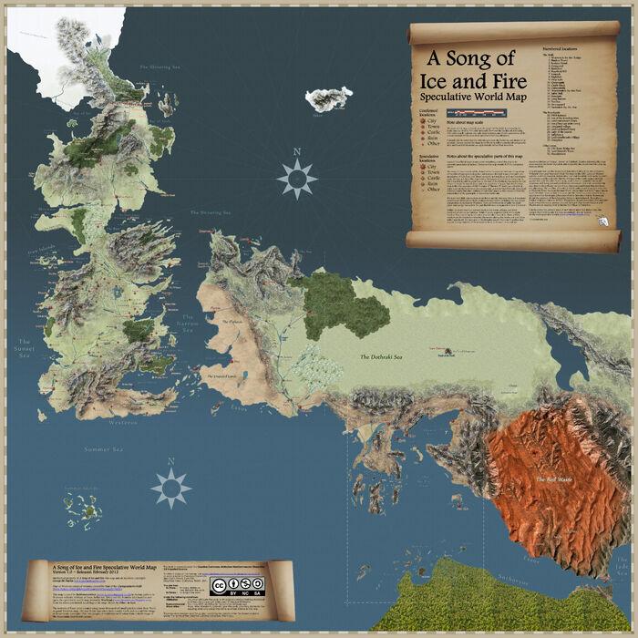 Speculative map