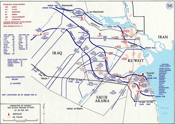 Gulf War Kuwait