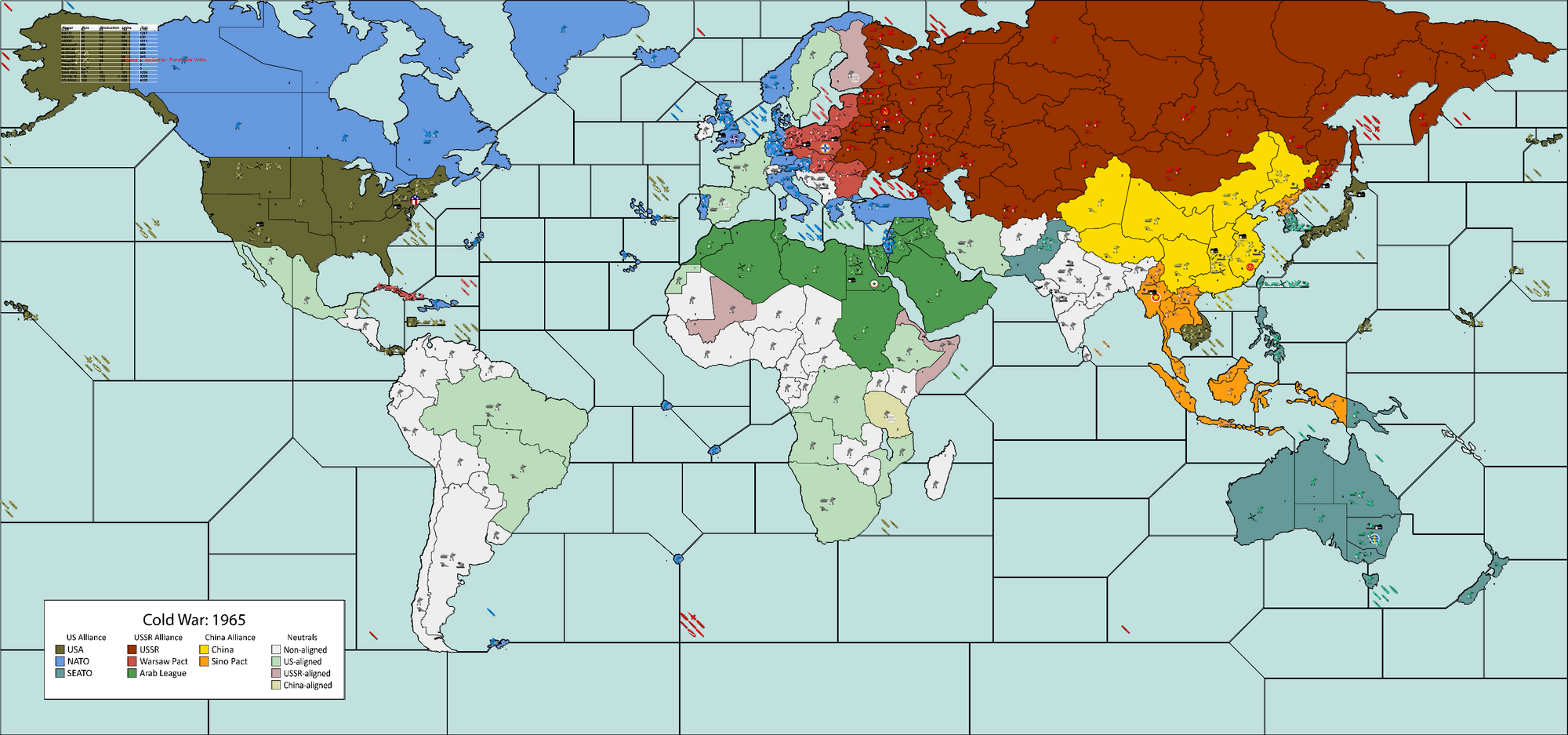 Cold War Axis Allies Wiki FANDOM Powered By Wikia - Current us allies map
