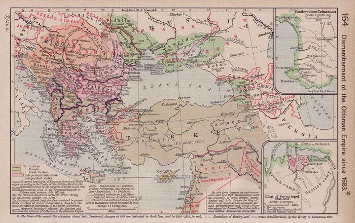 Ottoman dismemberment