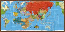 Global War 1936-1945 map