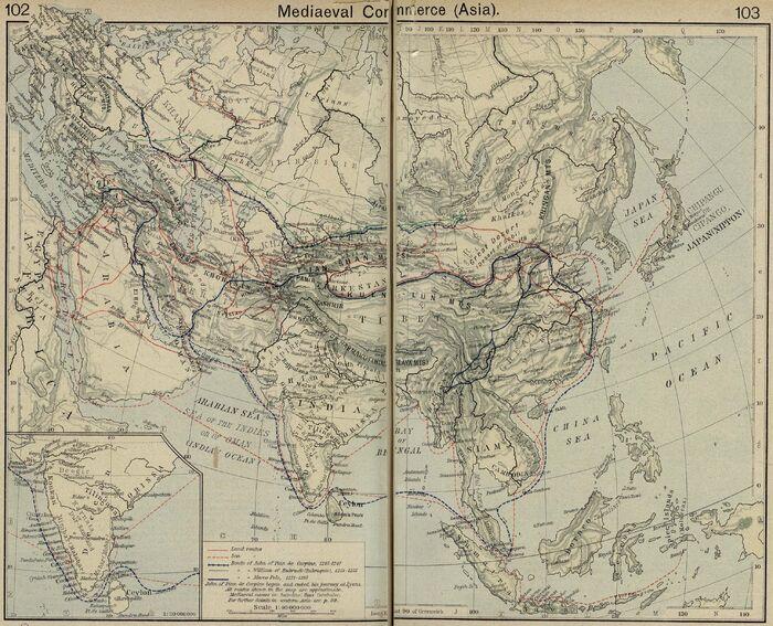 Mediaeval commerce asia