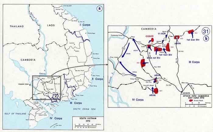 Vietnam war map 31