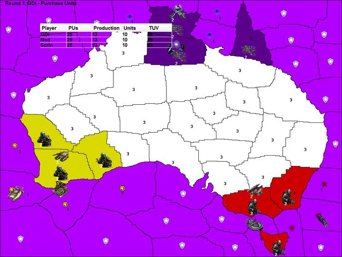 Tiberian Conquest AU