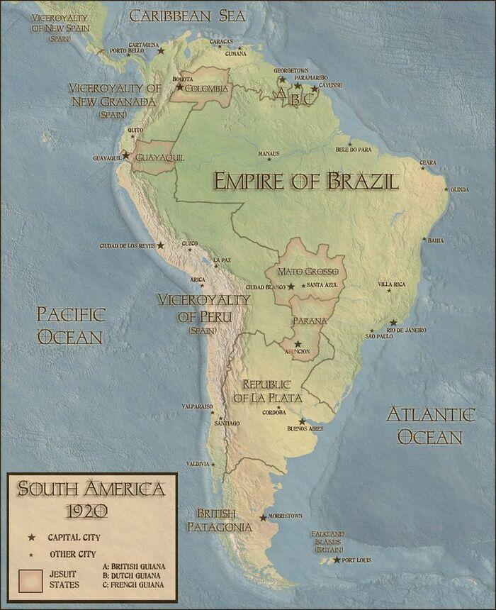 Jesuit States by Chanimur