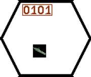 1 hex 300%