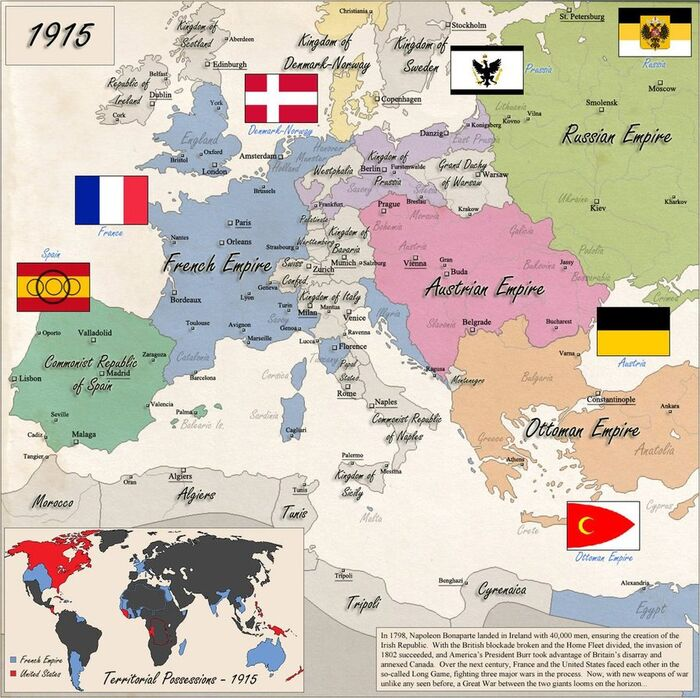 The French Empire by Chanimur