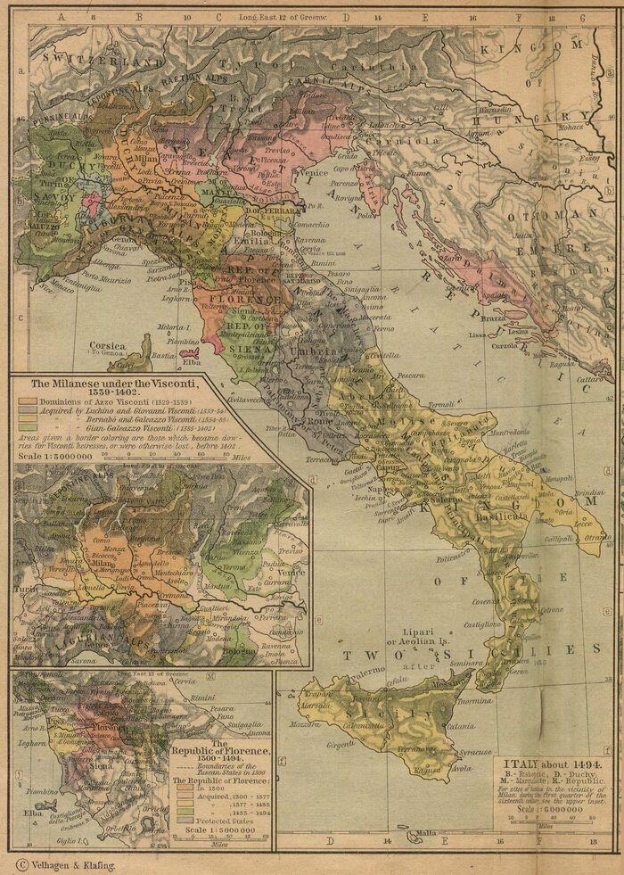 Italy 1494 shepherd
