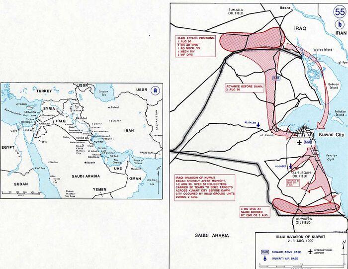 Gulf War Iraq