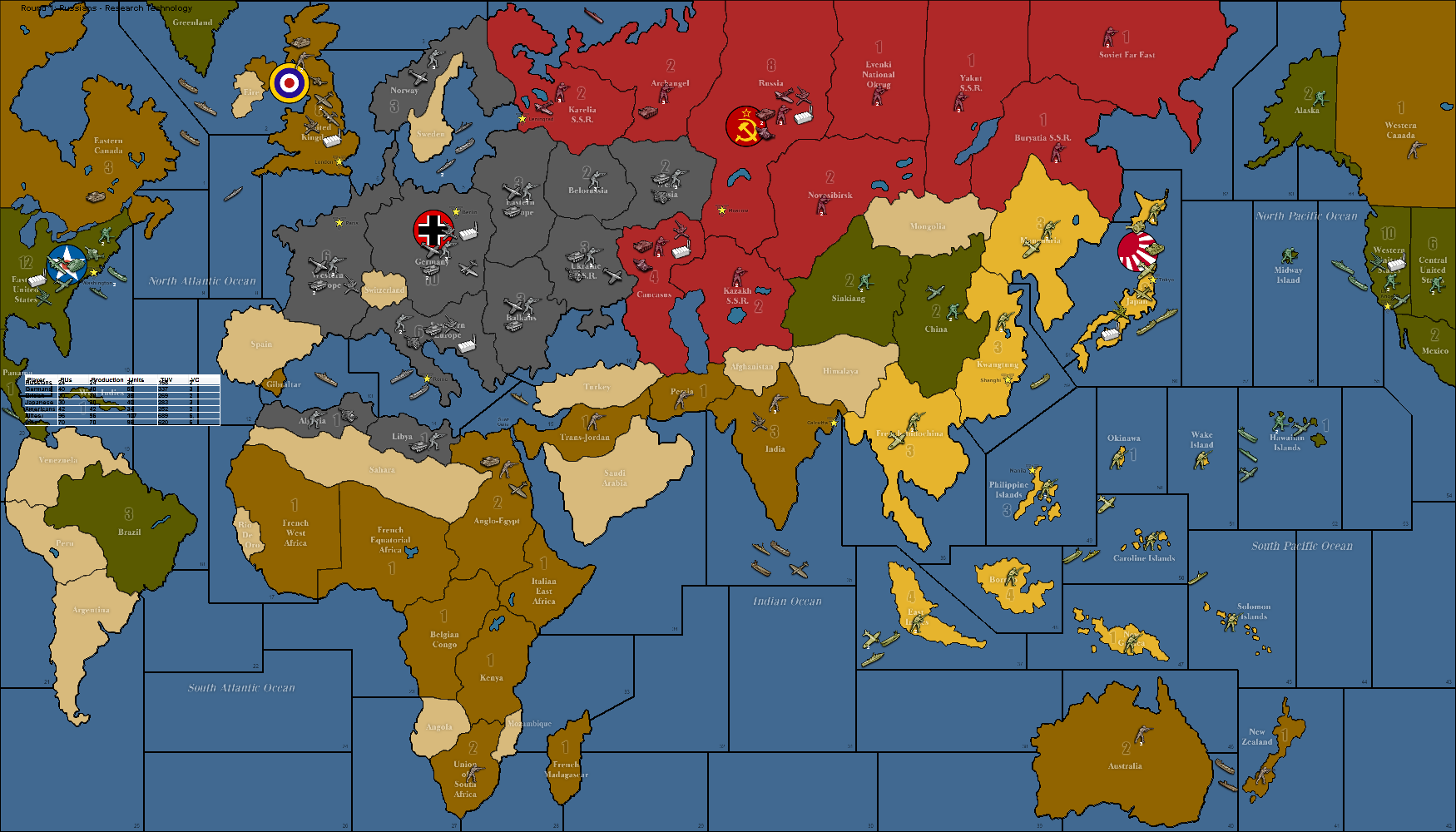 World war ii revised axis allies wiki fandom powered by wikia world war ii revised gumiabroncs Choice Image