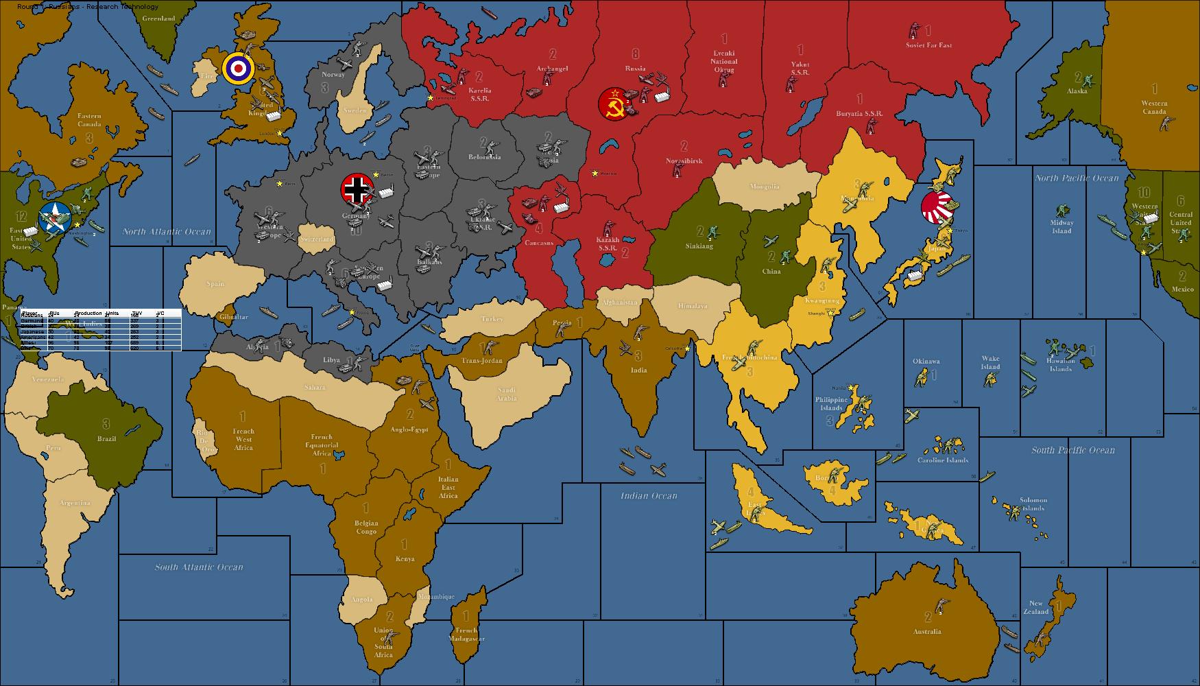 Attractive World War II Revised