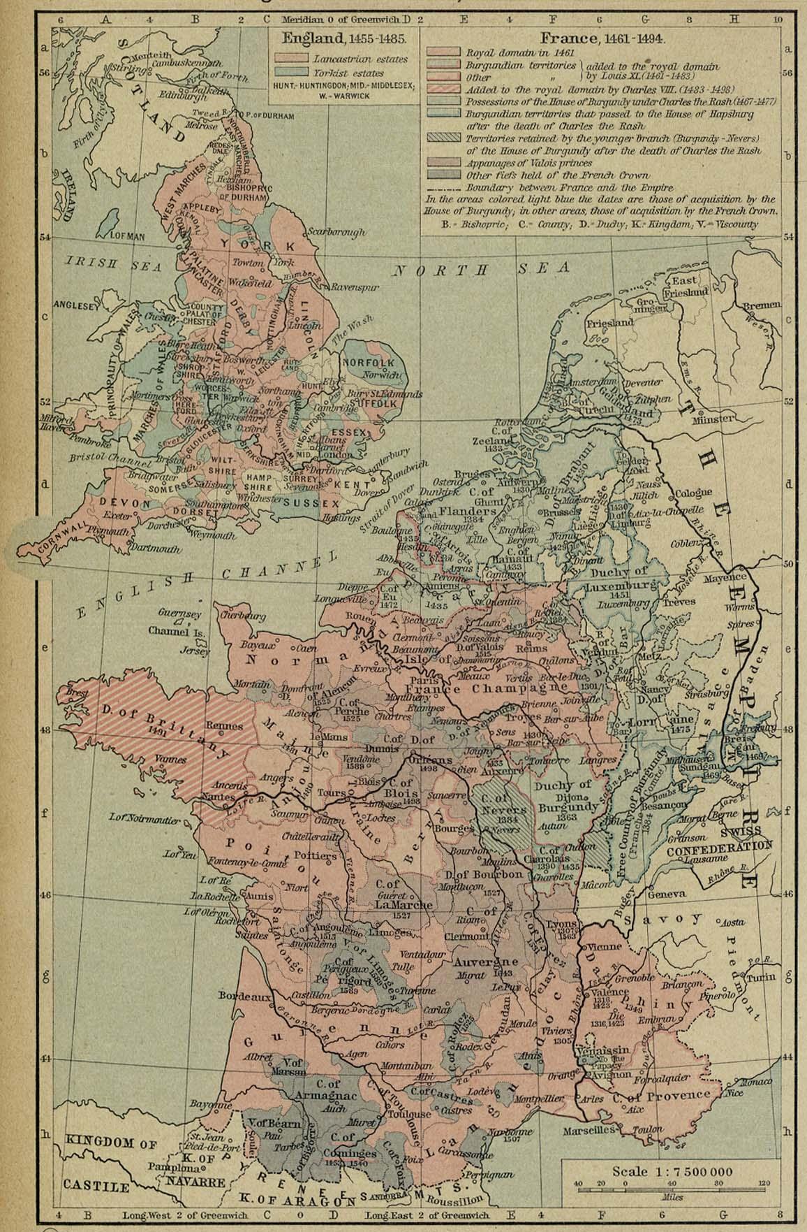 England france 1455 1494