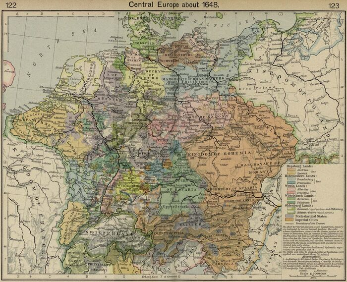 Central europe 1648
