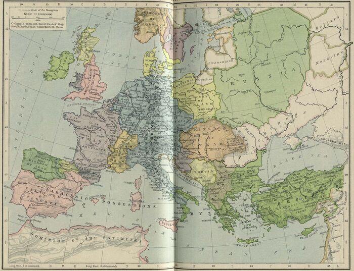 Europe byzantine empires