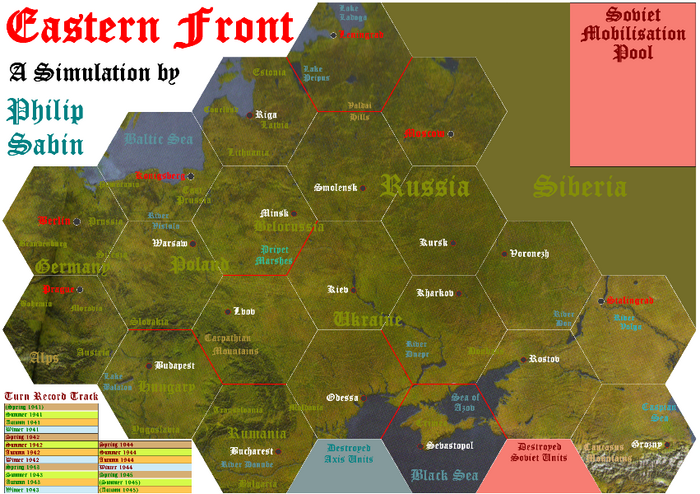 Eastern Front 2 map