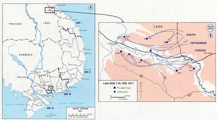 Vietnam war map 32