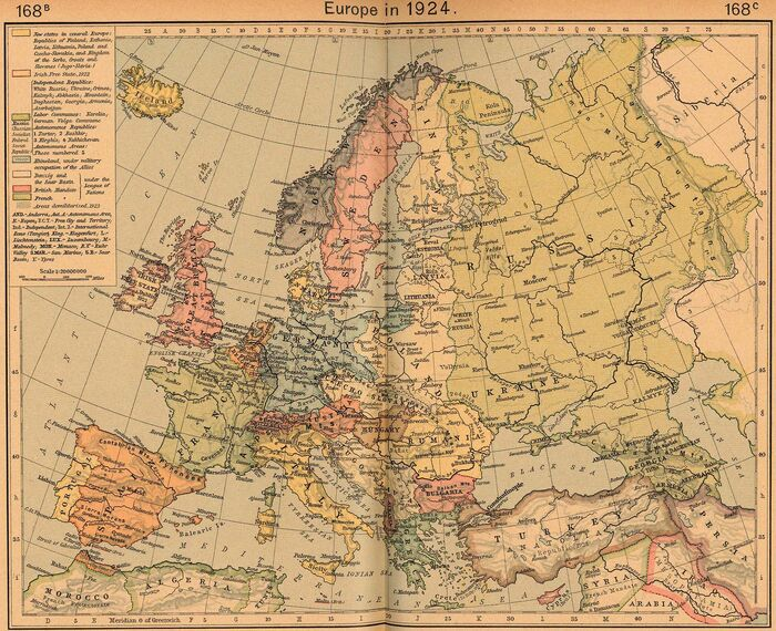 Europe 1924