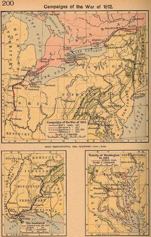 War campaigns 1812