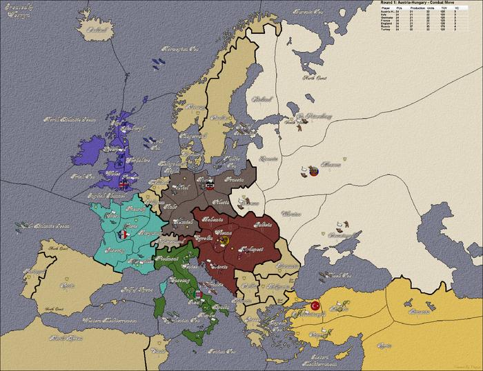 Diplomacy-FFA Great War