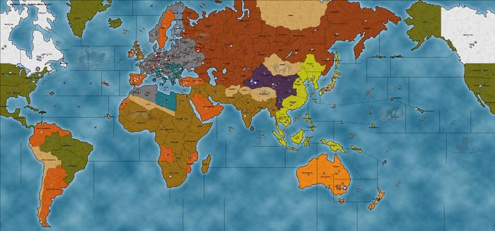 Big World 1941 - Factions (Allies)