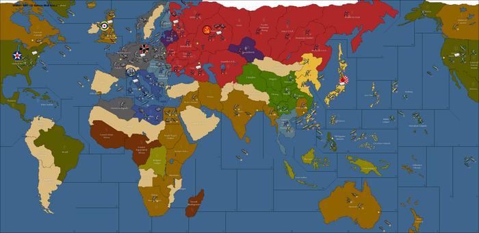 WWIIv3 1941 - 11 Nations Mod