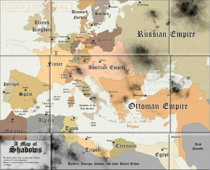 A Map of Shadows by Chanimur