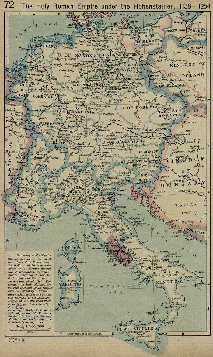 Roman empire 1138 1254