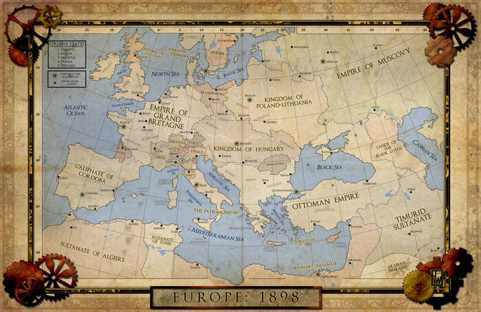 Steampunk europe by chanimur-d4b59f4