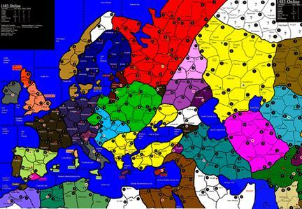Europe 1483 | Axis & Allies Wiki | FANDOM powered by Wikia