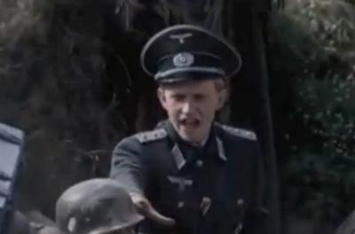 Unidentified German Officer
