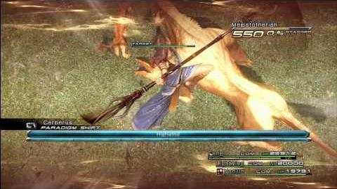 FFXIII Special Abilities - Highwind (Fang)