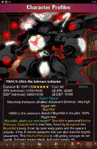 Character Profiles- PRNCS-18SA-Mu Schwarz Achtzehn
