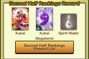 HazyMoon SecondRanking rewards
