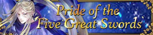 Pride of the Five Great Swords