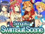 """Escena de Trajes de Baño de Sengoku"""
