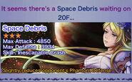 Space Debris Rec