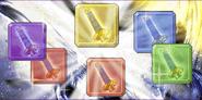 Moon Mikazuki Sealstone Set
