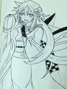 Titania Sketch