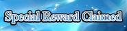 Swordsman's Journey Special Reward Claimed Heading