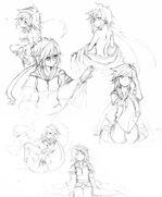 Kakinomoto Sketches